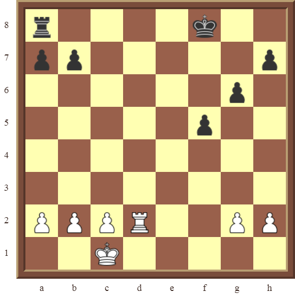CHAPTER 4 OTHER FORKS/DOUBLE ATTACKS – Diagram 107  – White wins the black b-Pawn or the h-Pawn in 2 moves.