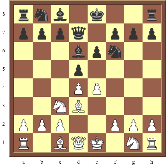 CHAPTER 4 OTHER FORKS/DOUBLE ATTACKS – Diagram 119  – White wins the black Bishop or Knight in 2 moves.