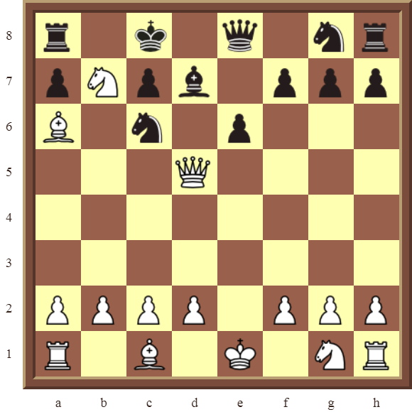CHAPTER 5 DISCOVERED CHECKS – Diagram 144 – White checkmates in 2 moves.