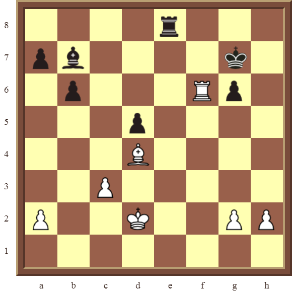 CHAPTER 5 DISCOVERED CHECKS – Diagram 150 – White wins the black Pawn on b6 and the Bishop in 2 moves.