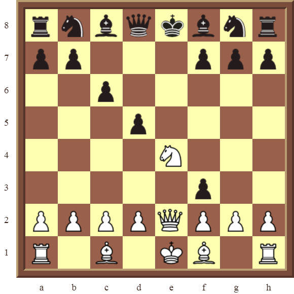 CHAPTER 6 DOUBLE CHECKS – Diagram 157  – White checkmates in 1 move!