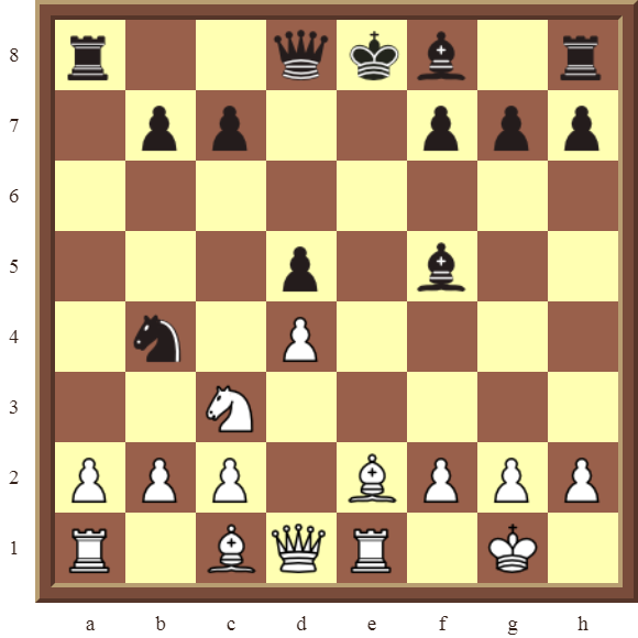 CHAPTER 6 DOUBLE CHECKS – Diagram 158: White checkmates in 1 move!