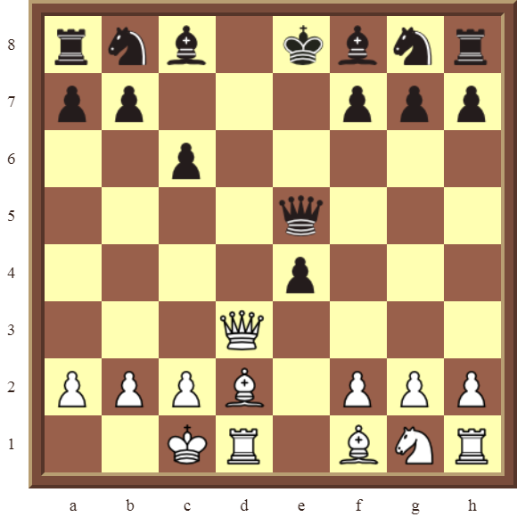 CHAPTER 6 DOUBLE CHECKS Diagram 160 – White checkmates in 3 moves!