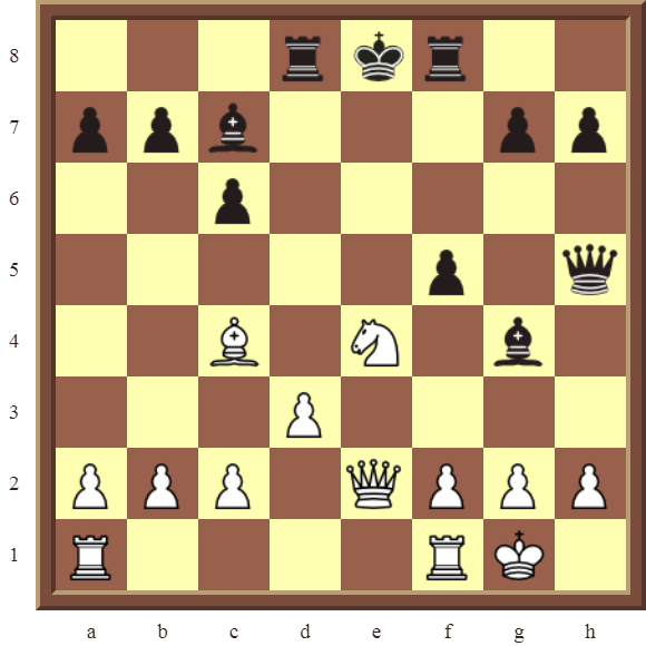 CHAPTER 6 DOUBLE CHECKS – Diagram 162: White checkmates in 1 move!