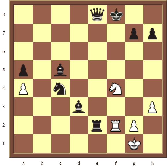 White checkmate in 1 move