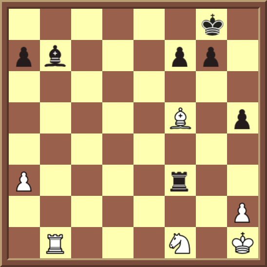 CHAPTER 6 DOUBLE CHECKS – Diagram 164: Black checkmates in 1 move!