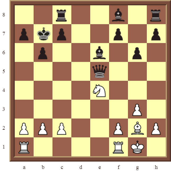 White checkmates in 2 moves