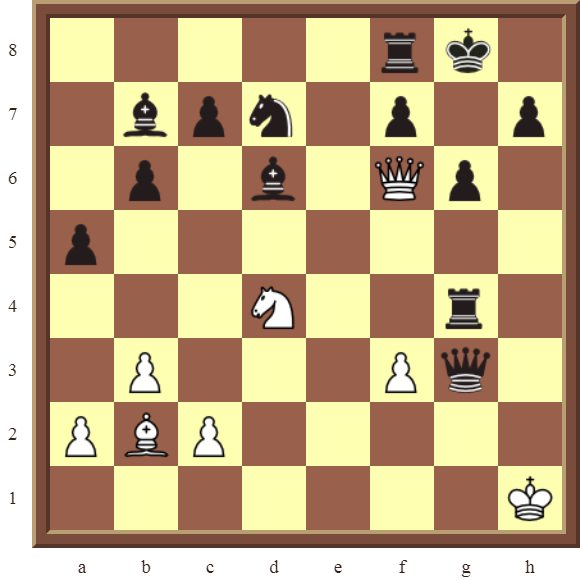 CHAPTER 6 DOUBLE CHECKS – Diagram 167: White checkmates in 3 moves!