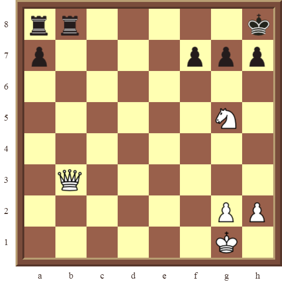 CHAPTER 6 DOUBLE CHECKS – Diagram 169: White checkmates in 3 or 4 moves!