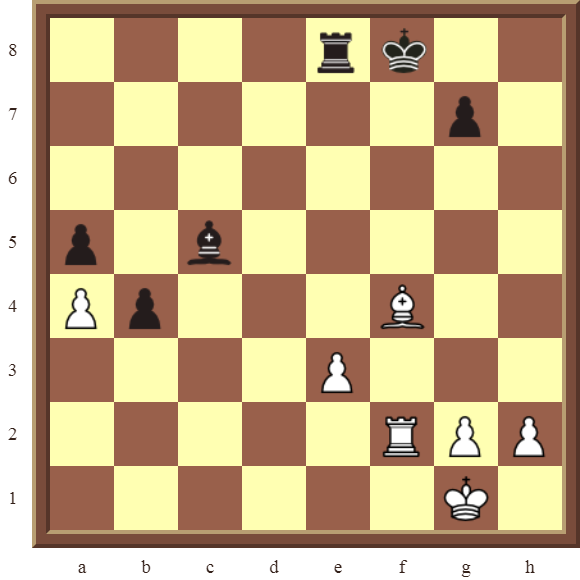 CHAPTER 6 DOUBLE CHECKS – Diagram 171: White wins the black Bishop in 2 moves!