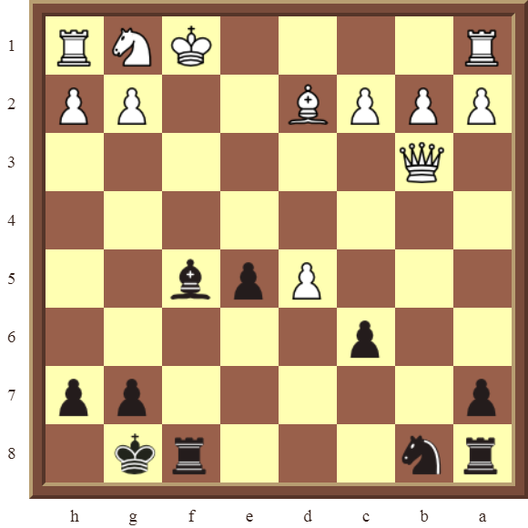CHAPTER 6 DOUBLE CHECKS – Diagram 172: Black checkmates in 2 moves!