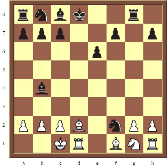 CHAPTER 6 DOUBLE CHECKS – Diagram 173: White checkmates in 2 moves!