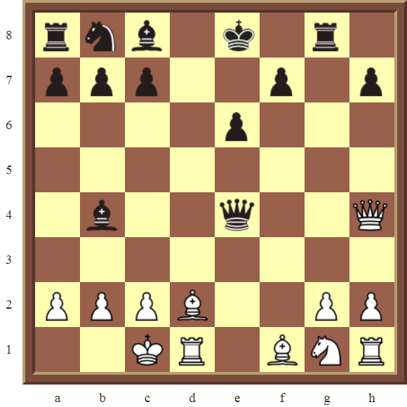 CHAPTER 6 DOUBLE CHECKS – Diagram 174: White checkmates in 3 moves!