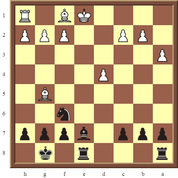 CHAPTER 6 DOUBLE CHECKS – Diagram 175: Black checkmates in 2 moves!