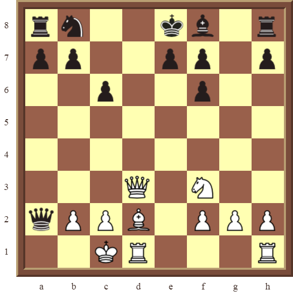 CHAPTER 6 DOUBLE CHECKS – Diagram 178: White checkmates in 3 moves!