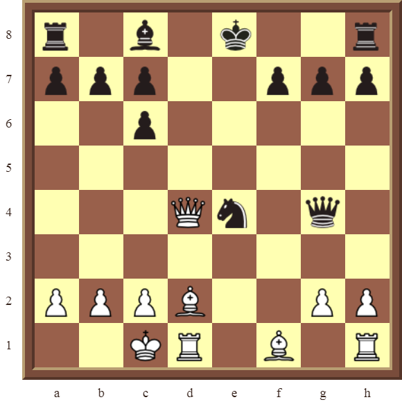 CHAPTER 6 DOUBLE CHECKS – Diagram 180: White checkmates in 3 moves!