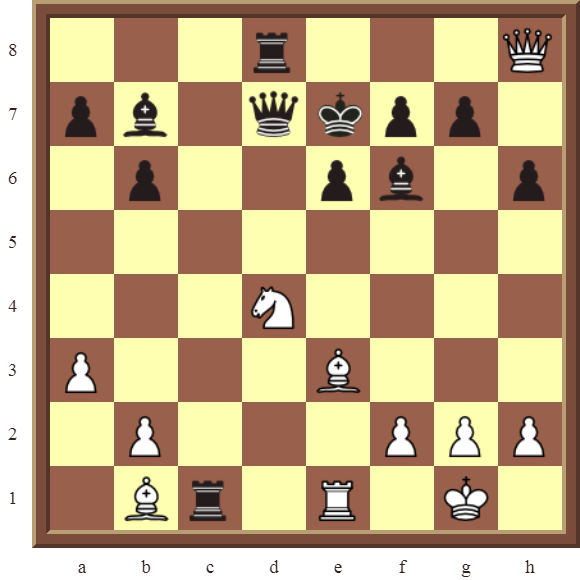 CHAPTER 6 DOUBLE CHECKS Diagram 181 – White checkmates in 2 moves!