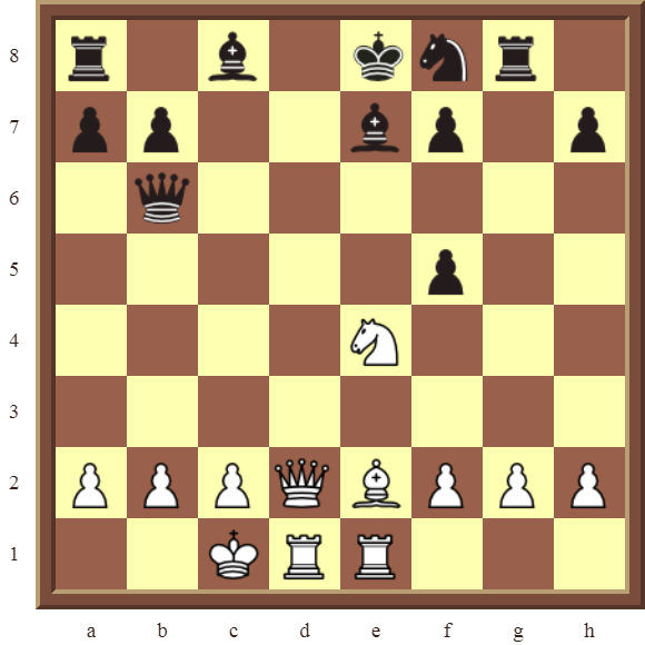 CHAPTER 6 DOUBLE CHECKS – Diagram 182: White checkmates in 2 or 3 moves!
