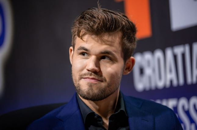 2019 August Magnus Carlsen at all time high