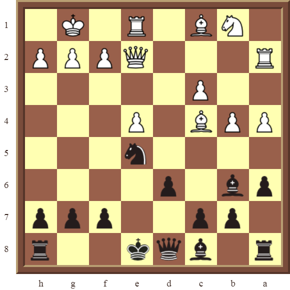 Black wins a white Rook for a Bishop in 3 moves