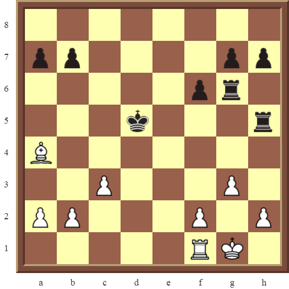 CHAPTER 8 SKEWERS – Diagram 236  – White wins the black Rook for a Bishop in 2 moves.