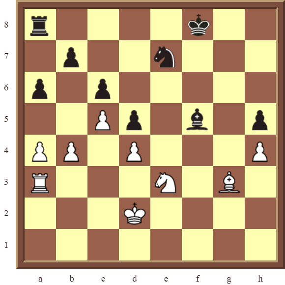 PINS: Diagram 25  – White wins a black Knight on f5 in 3 moves.