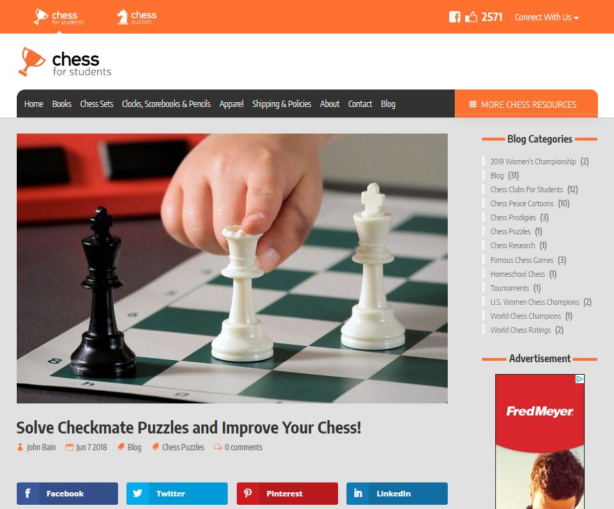 Solve checkmate puzzles and win free prizes!
