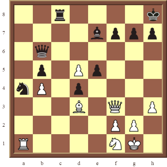 CHAPTER 9 DOUBLE THREATS Diagram 262 – White checkmates or wins the Rook in 2 moves.