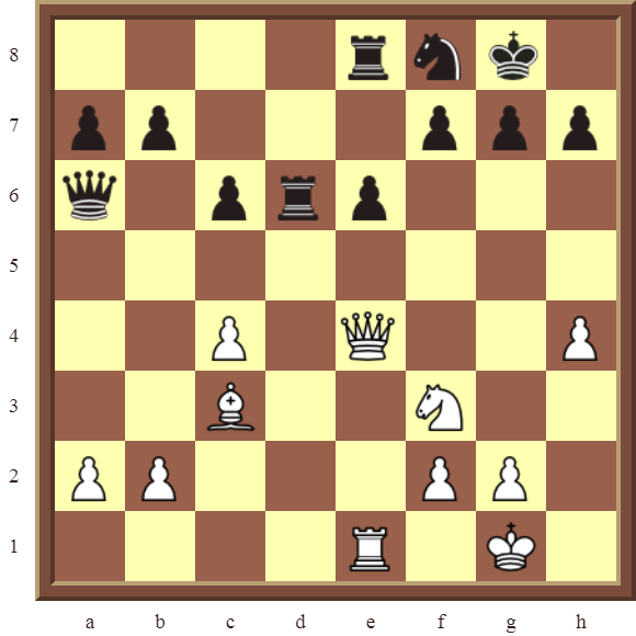 CHAPTER 9 DOUBLE THREATS – Diagram 268  – White checkmates or wins the black Rook on d6 in 2 moves.