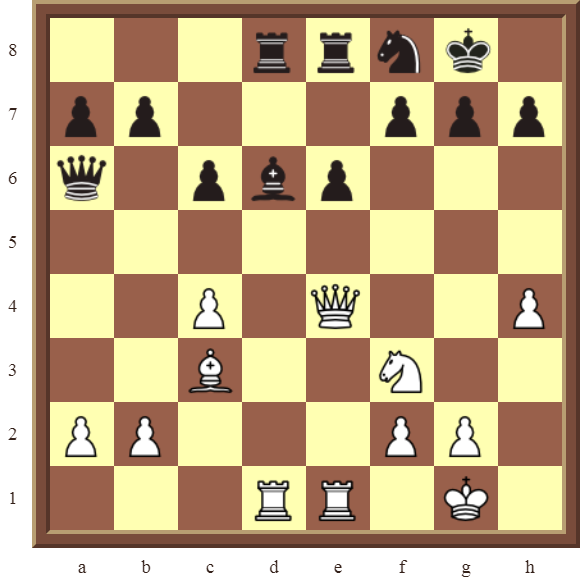CHAPTER 9 DOUBLE THREATS – Diagram 269  – White checkmates or wins the black Bishop in 3 moves.