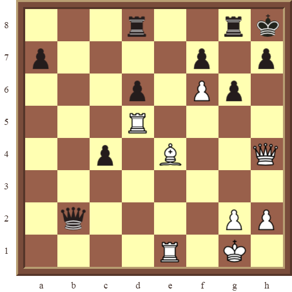 White checkmate in 2 moves