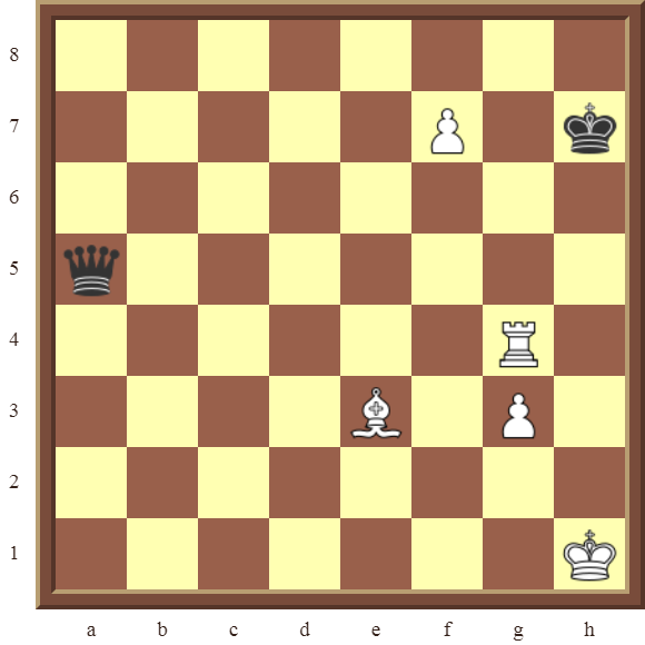 White checkmates in 3 moves
