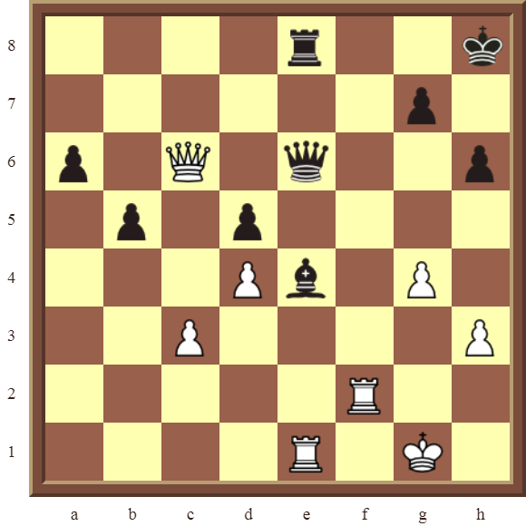 CHAPTER 11 REMOVING THE GUARD – Diagram 333 – White wins the black Queen for a Rook, or wins a Rook for free, in 2 moves!