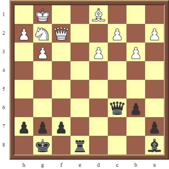 CHAPTER 11 REMOVING THE GUARD – Diagram 339 – Black checkmates in 2 moves!