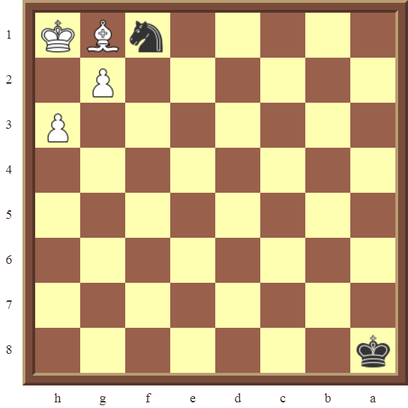 CHAPTER 12 PERPETUAL CHECK – Diagram 347  – Black draws this losing position by using a Perpetual Check!