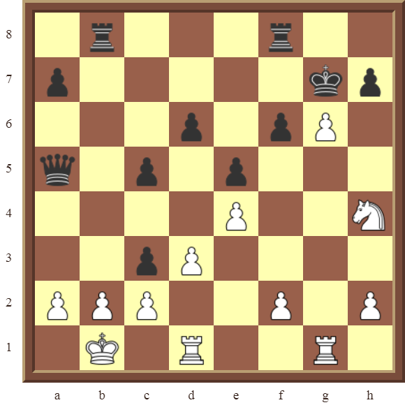 CHAPTER 12 PERPETUAL CHECK – Diagram 352 – White draws this otherwise losing position by using Perpetual Check!