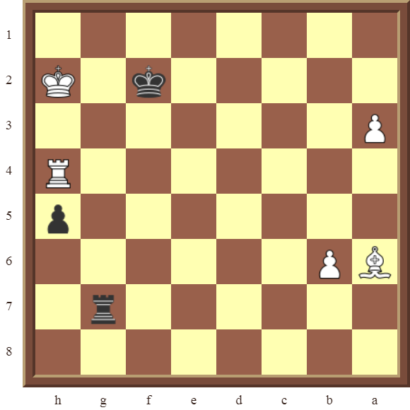 CHAPTER 12 PERPETUAL CHECK – Diagram 356 – Black draws this otherwise losing position by using a Perpetual Check!