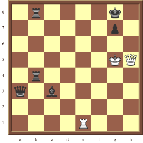 CHAPTER 12 PERPETUAL CHECK – Diagram 366 – White draws this otherwise losing position by using a Perpetual Check!