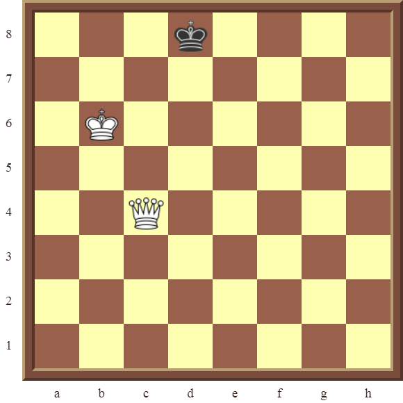 CHAPTER 13 ZUGZWANG/STALEMATE: Diagram 378 – White checkmates in 2 moves!