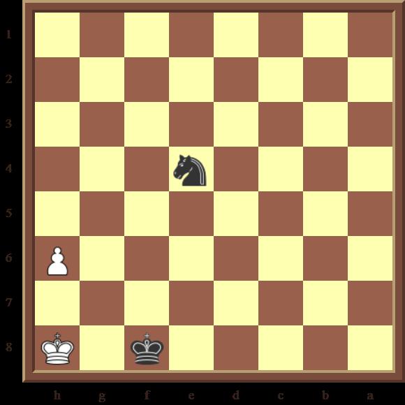 Black checkmates in 2 moves
