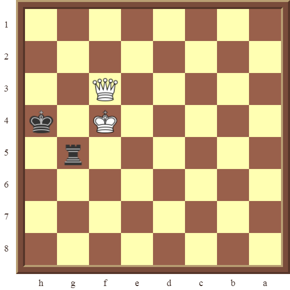 CHAPTER 13 ZUGZWANG/STALEMATE: Diagram 392 –Black avoids checkmate and draws this losing position in 1 or 2 moves!