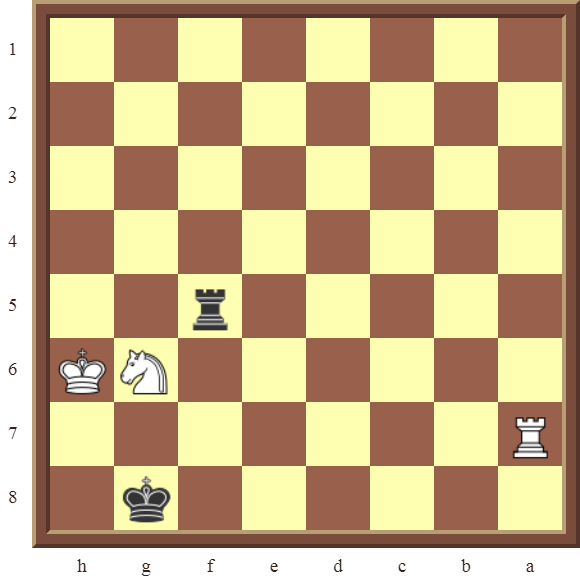 CHAPTER 13 ZUGZWANG/STALEMATE: Diagram 394 –Black this losing position in 1 move!