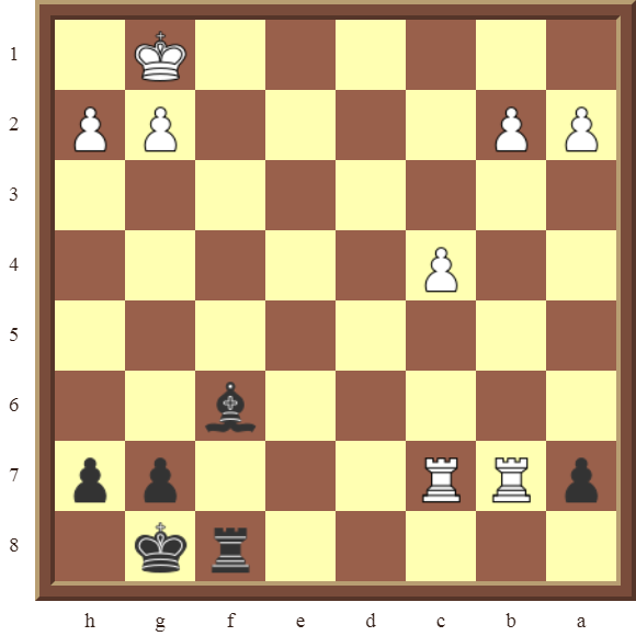 CHAPTER 14 QUIZZES & NAME THE TACTICS: Diagram 424 – Black checkmates in 2 moves.