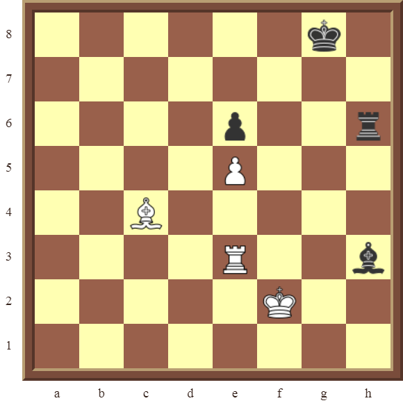 CHAPTER 14 QUIZZES & NAME THE TACTICS: Diagram 432 – White wins the black Bishop and a pawn in 3 moves.