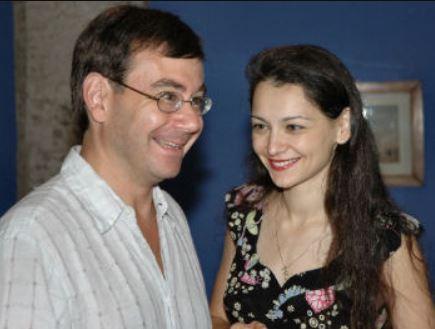 Alexandra Kosteniuk and husband Diego Garces in 2006