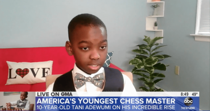 America's Youngest Chess Master ABC News 2021