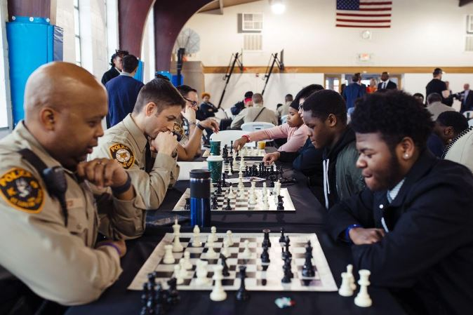 Chess, Cops and Kids…