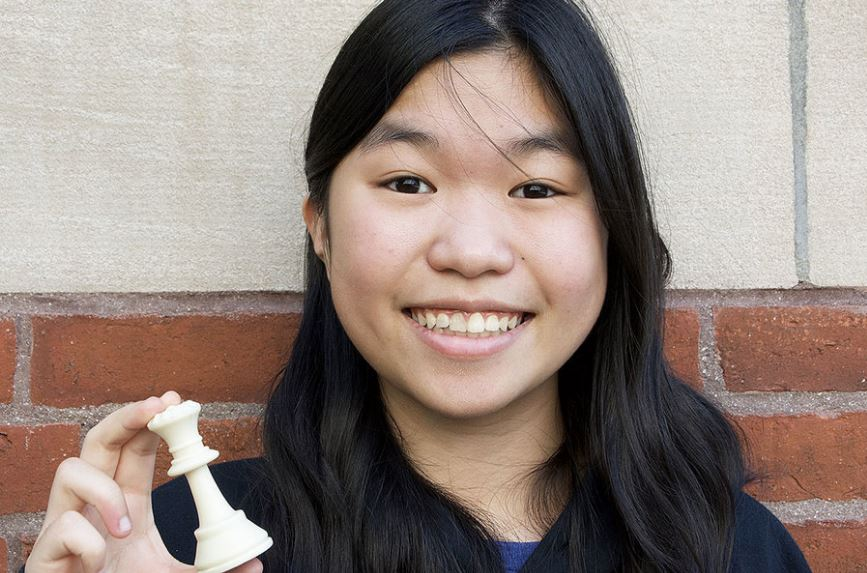 Carissa Yip America's #1 Rated Female Chess Player!