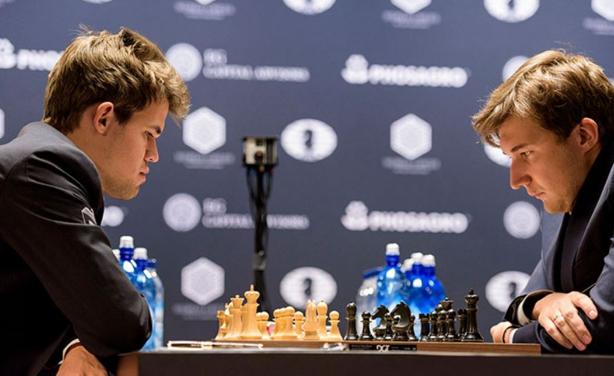 Carlsen versus Karjakin 2016 World Chess Championship
