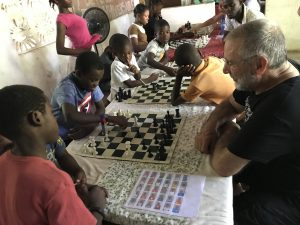 Remembering Chess in Pignon, Haiti – U.S. Embassy in Haiti issues Global Level 4 Health Advisory: Do not travel.